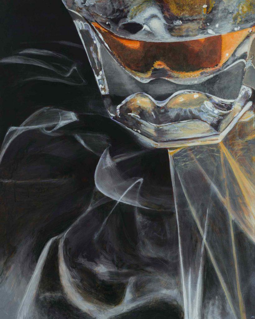 "Bourbon Noir •24"" x 30"""