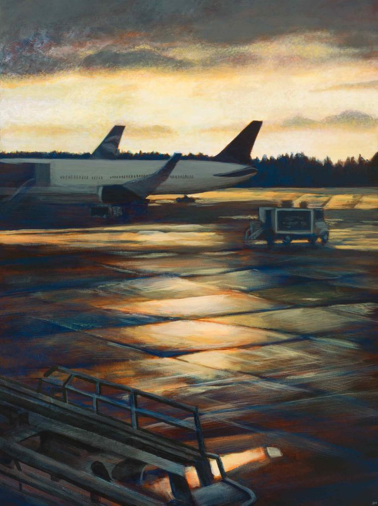 "Flight Delay • 23.5"" x 31.5"""