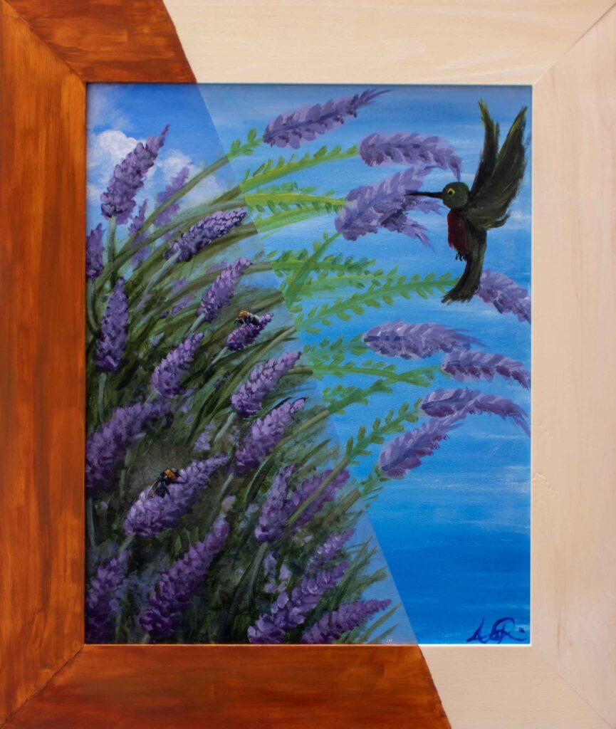 "Lavender Fields \ AR •21.5"" x 25.5"""