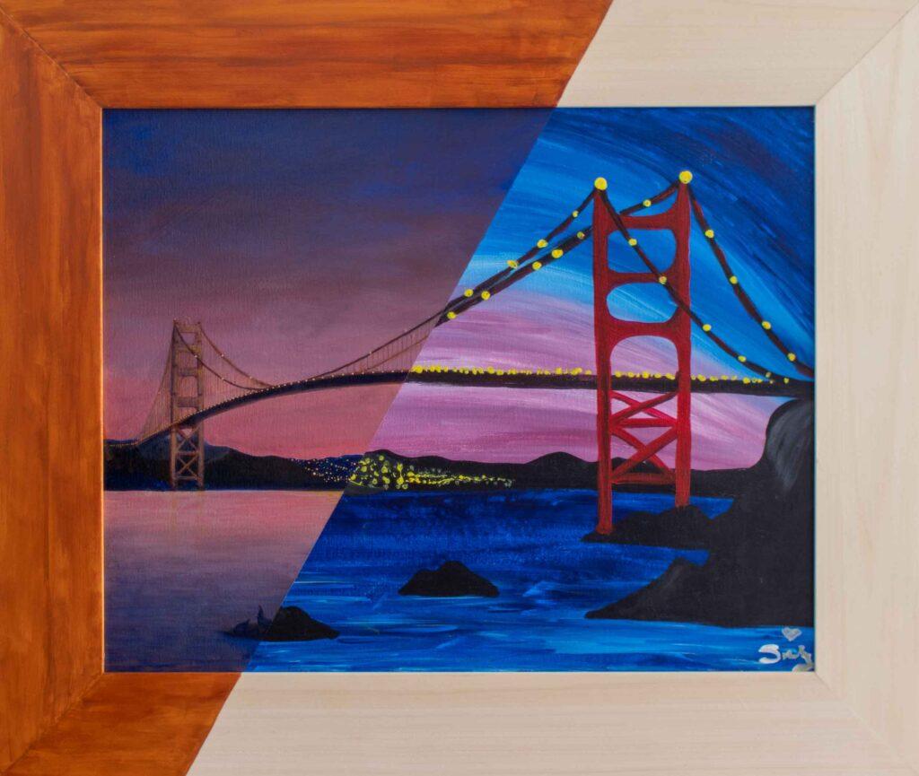 """Golden Gate / SCY • 25.5"""" x 21.5"""""""