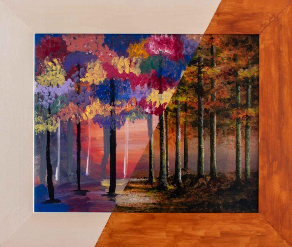"""Autumn Dawn / SG • 25.5"""" x 21.5"""""""